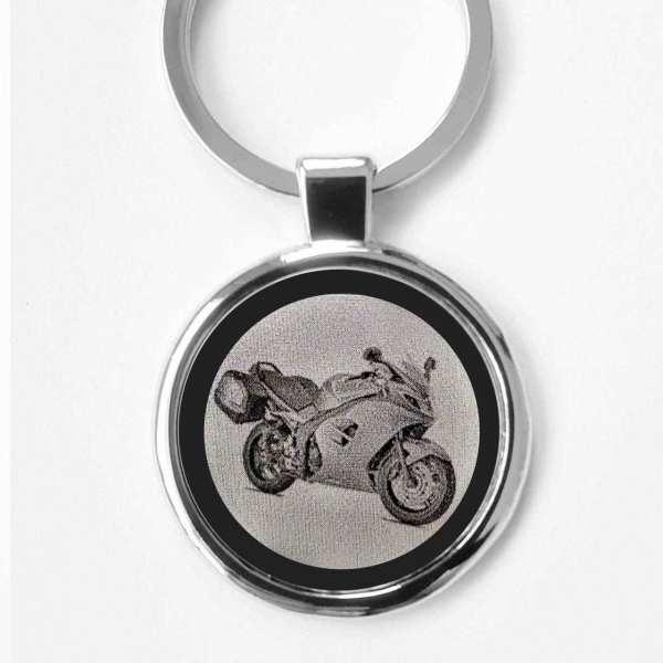 Triumph Sprint ST Motorrad Gravur Schlüsselanhänger - original Fotogravur