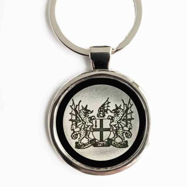 London Wappen Schlüsselanhänger personalisiert