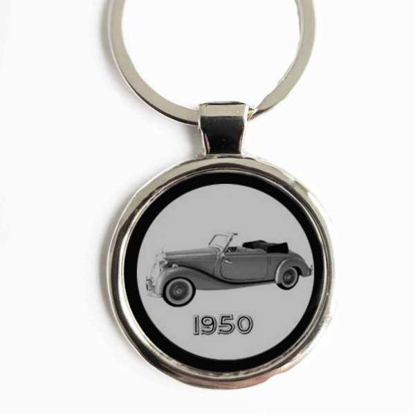 Mercedes Benz 170S Gravur Schlüsselanhänger personalisiert