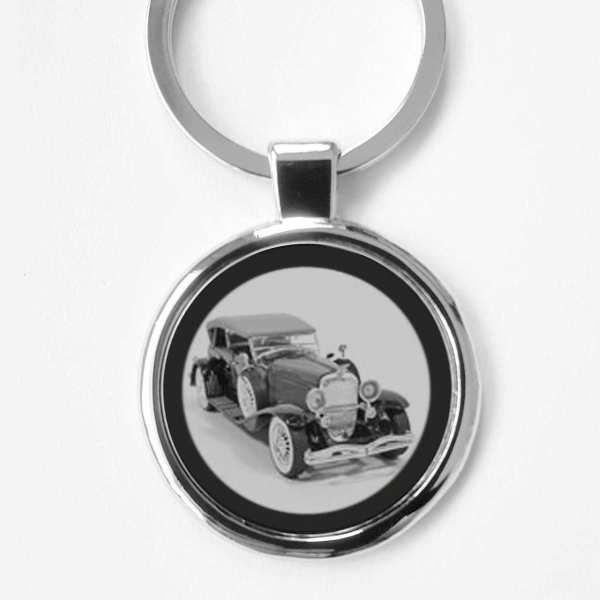 Duesenberg Oldtimer Schlüsselanhänger personalisiert mit Gravur