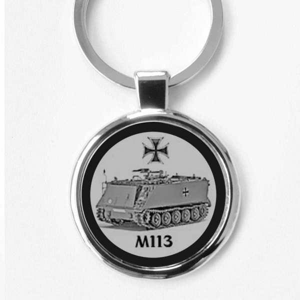 Bundeswehr M113 Schlüsselanhänger personalisiert