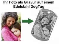 Fotogravur DogTag Edelstahl
