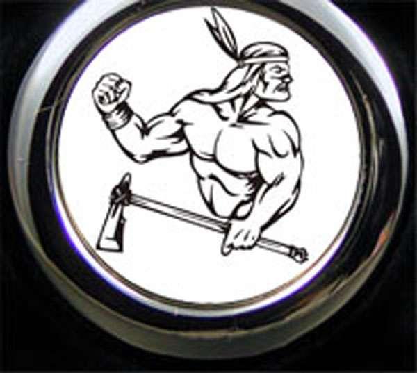 Indianer Krieger Schlüsselanhänger personalisiert