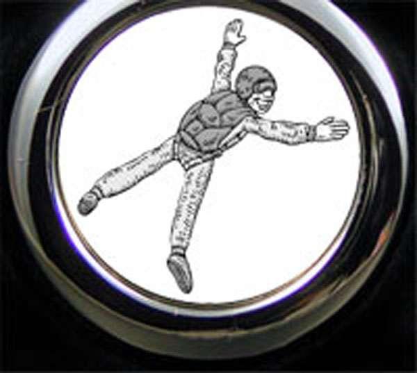 Base Jumping Sportart Schlüsselanhänger personalisiert