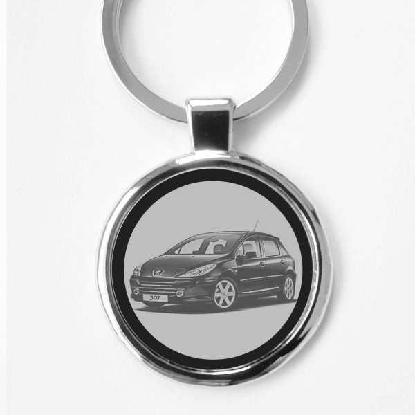 Peugeot 307 Schlüsselanhänger