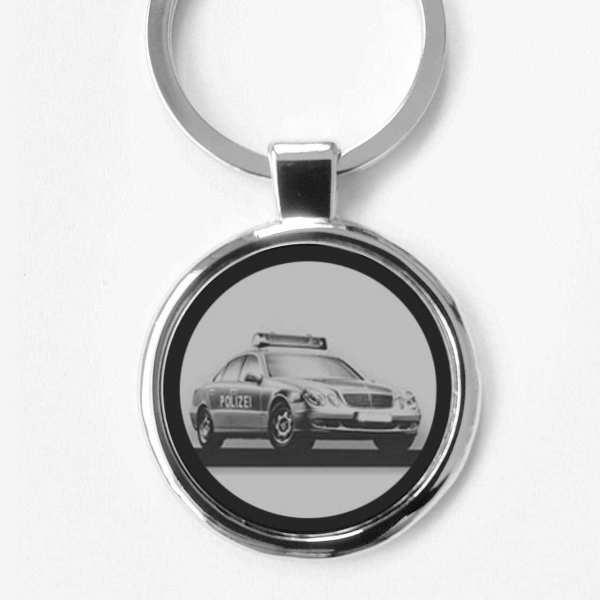 Polizeiwagen Schlüsselanhänger