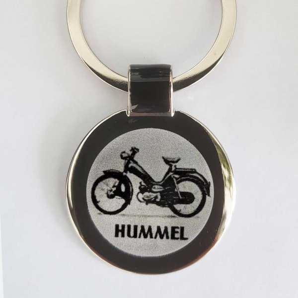 DKW Hummel Schlüsselanhänger personalisiert - original Fotogravur
