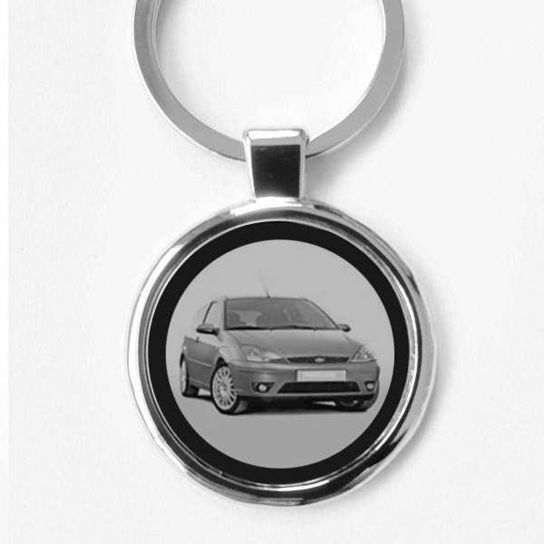 Ford Focus Auto Schlüsselanhänger personalisiert