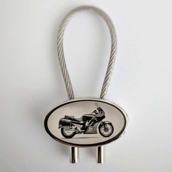 Kawasaki 1000GTR Motorrad Schlüsselanhänger - original Fotogravur
