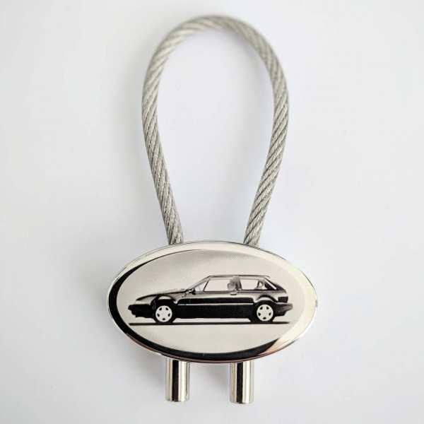 Volvo 480 Schlüsselanhänger personalisiert - original Fotogravur