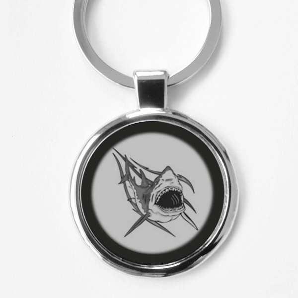 Hai Schlüsselanhänger personalisiert mit Gravur