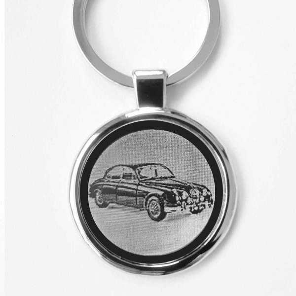 Jaguar Mark II Schlüsselanhänger personalisiert mit Gravur