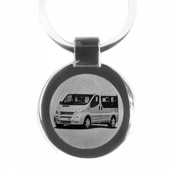 Opel Vivaro Auto Gravur Schlüsselanhänger personalisiert - original Fotogravur