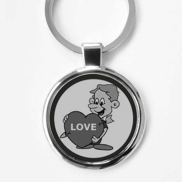 LOVE ♥ Gravur Schlüsselanhänger personalisiert