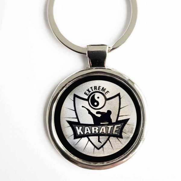 Karate Extreme Gravur Schlüsselanhänger personalisiert - original Fotogravur