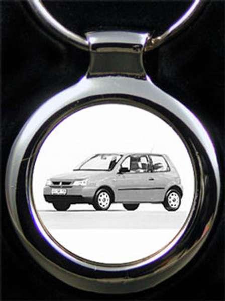 Seat Arosa Auto Schlüsselanhänger personalisiert