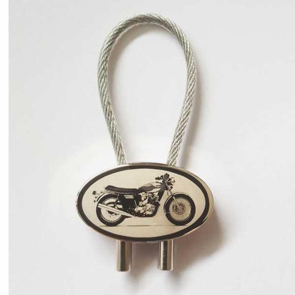 Triumph T160 Gravur Schlüsselanhänger personalisiert