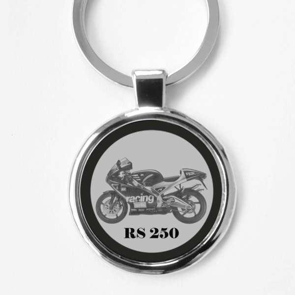 Aprilia RS 250 Gravur Schlüsselanhänger personalisiert
