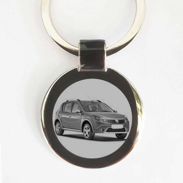 Dacia Stepway Gravur Schlüsselanhänger personalisiert