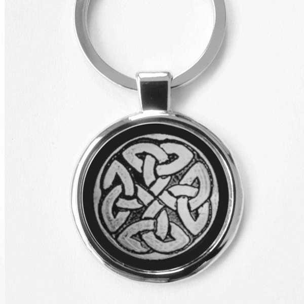 Schild der vier Himmelsrichtungen Glücksymbol Schlüsselanhänger mit Gravur