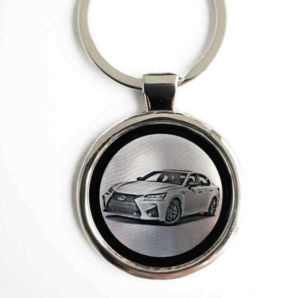 Lexus GS Gravur Schlüsselanhänger personalisiert - original Fotogravur