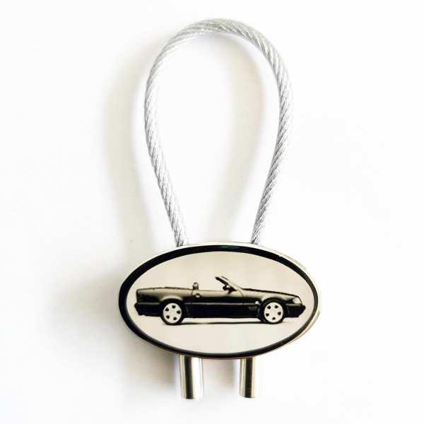 Mercedes SL280 Gravur Schlüsselanhänger - original Fotogravur