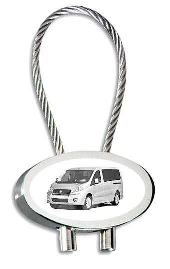 Fiat Scudo Combi Auto Schlüsselanhänger mit Gravur