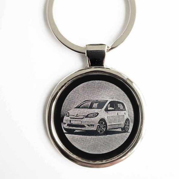 Seat Leon Cupra ab 2020 Gravur Schlüsselanhänger personalisiert - original Fotogravur