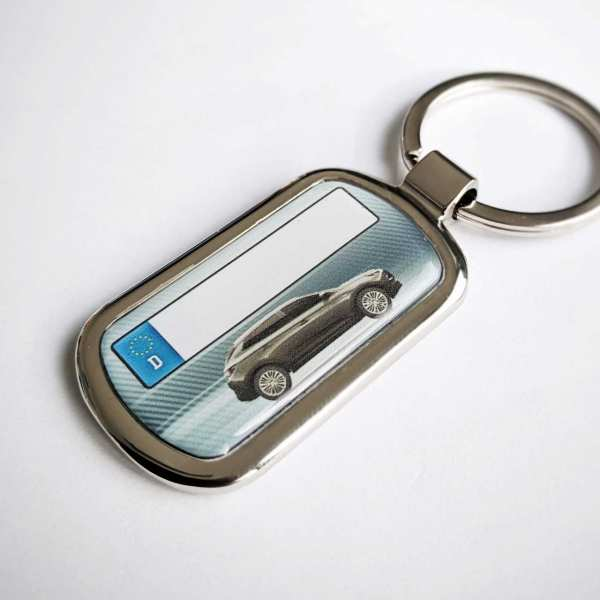 Renault Kadjar Schlüsselanhänger personalisiert & Kennzeichen & Gravur auf der Rückseite