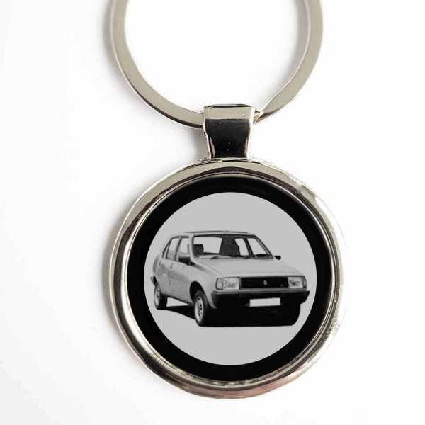 Renault R14 Gravur Schlüsselanhänger personalisiert