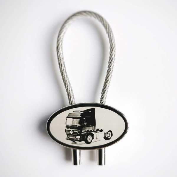 Actros Zugmaschine Gravur Schlüsselanhänger personalisiert - original Fotogravur
