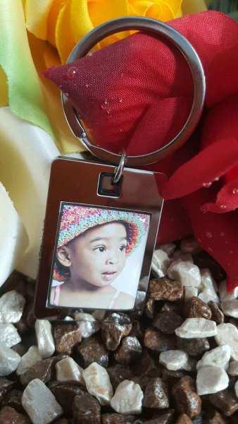 Fotogeschenk Schlüsselanhänger personalisiert