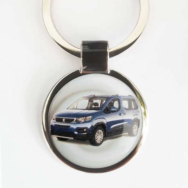 Peugeot Rifter Schlüsselanhänger personalisiert mit Gravur