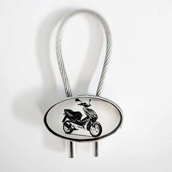 Yamaha Aerox R Bike Gravur Schlüsselanhänger personalisiert - original Fotogravur
