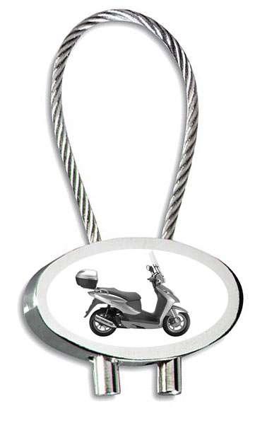 Honda Dylan Motorrad Schlüsselanhänger inkl. Gravur