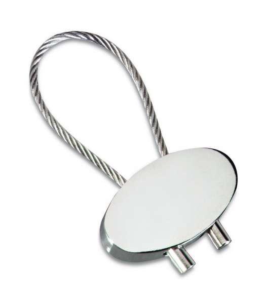 Fotogravur Schlüsselanhänger personalisiert Elipse