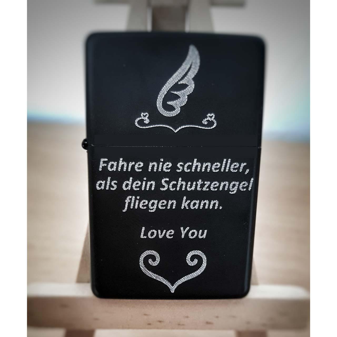 Elegant Schutzengel Sprüche Galerie Von Gravur Feuerzeug - Sprüche Und Redensarten |
