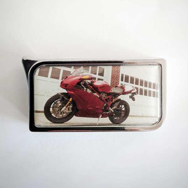 Feuerzeug mit Foto vom Motorrad z.B. BMW Honda Yamaha Ducati