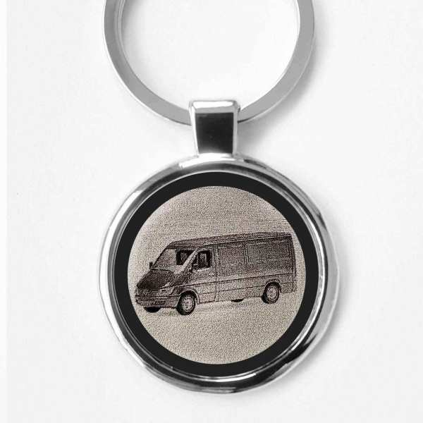 Mercedes Sprinter Bus Gravur Schlüsselanhänger personalisiert - original Fotogravur