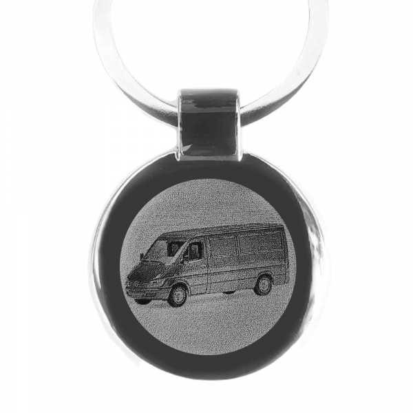 Mercedes Sprinter Bus Gravur Schlüsselanhänger - original Fotogravur