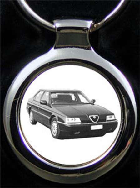 Alfa Romeo 164 Auto Schlüsselanhänger personalisiert
