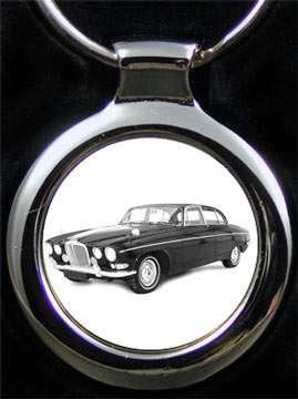 Jaguar 420G Auto Schlüsselanhänger mit Gravur