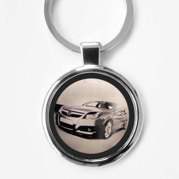 Opel Vectra Gravur Schlüsselanhänger personalisiert