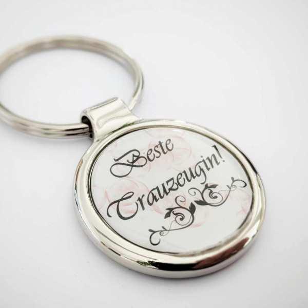 Beste Trauzeugin Schlüsselanhänger personalisiert