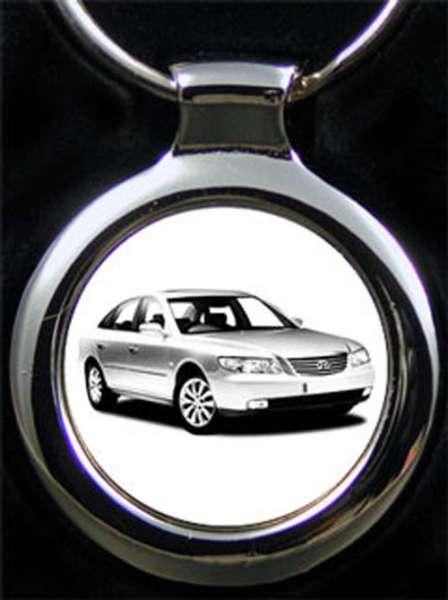 Hyundai Grandeur Schlüsselanhänger personalisiert
