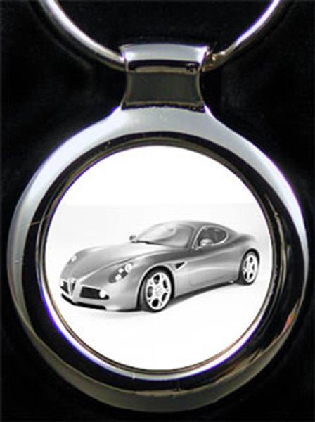 Alfa Romeo 8c Auto Gravur