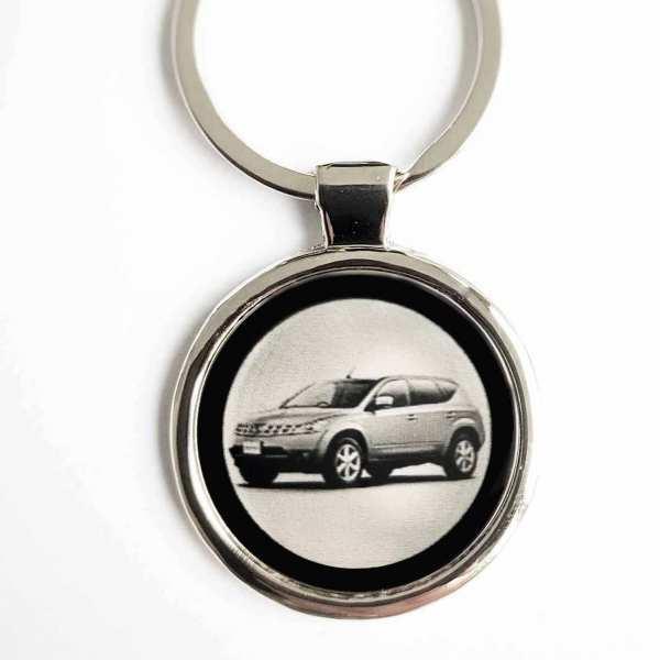 Nissan Murano Gravur Schlüsselanhänger personalisiert - original Fotogravur