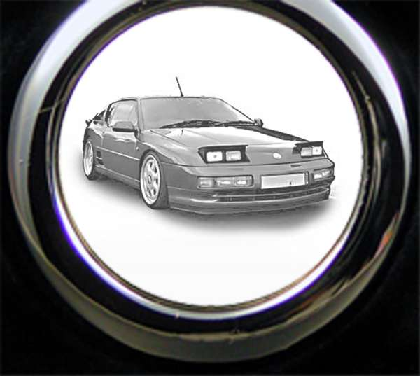 Renault A610 Schlüsselanhänger