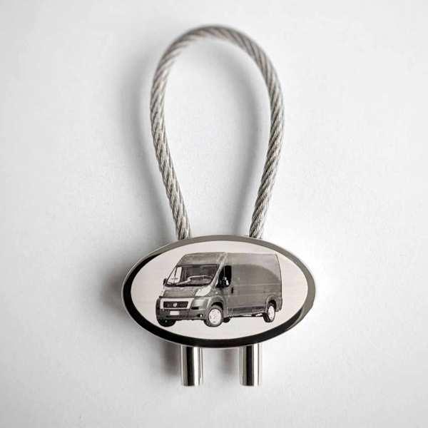 Fiat Ducato Gravur Schlüsselanhänger personalisiert - original Fotogravur