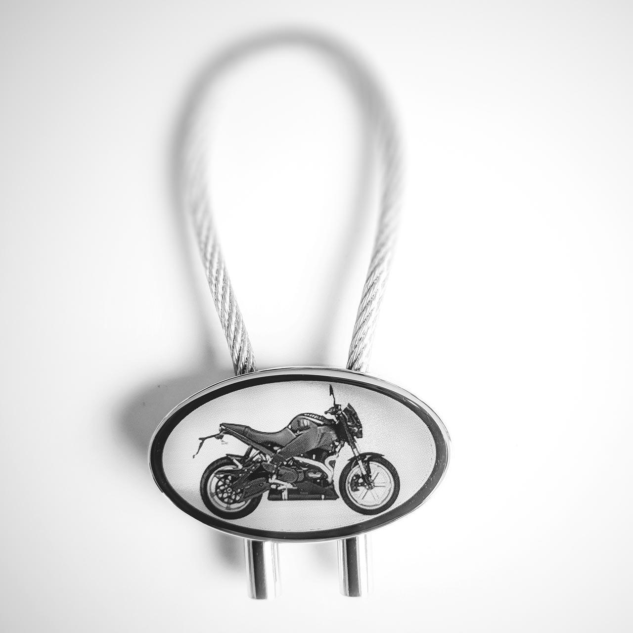 Motorrad Chopper Schl/üsselanh/änger silberfarben//schwarz Metall Moped Harley | Geschenk Chopper